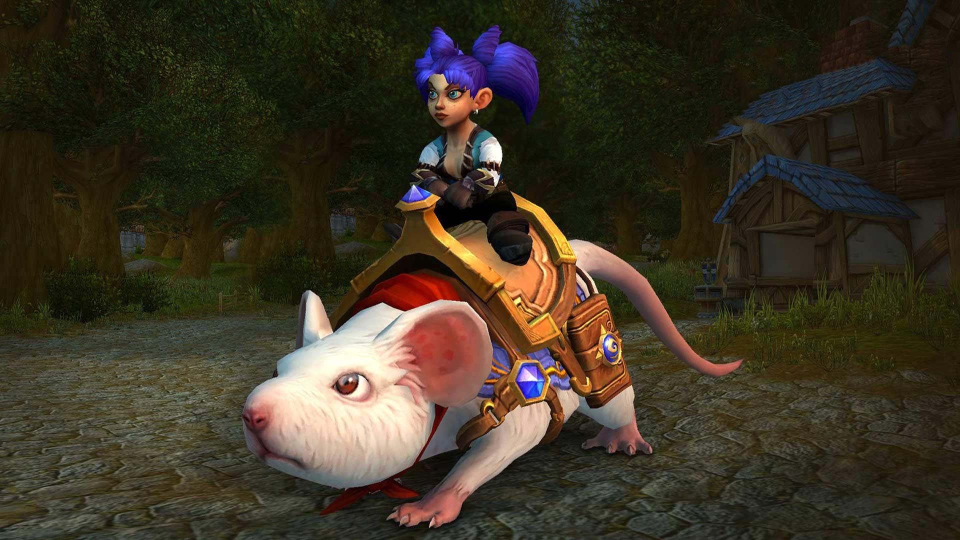 Histoire de Sergent : Une monture disponible dans World of Warcraft