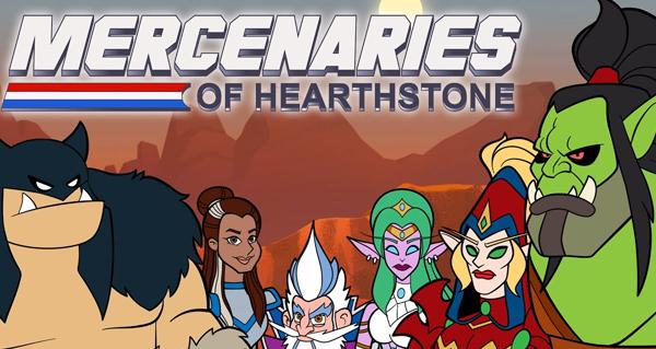 mode mercenaires : si hearthstone etait un dessin anime du samedi matin