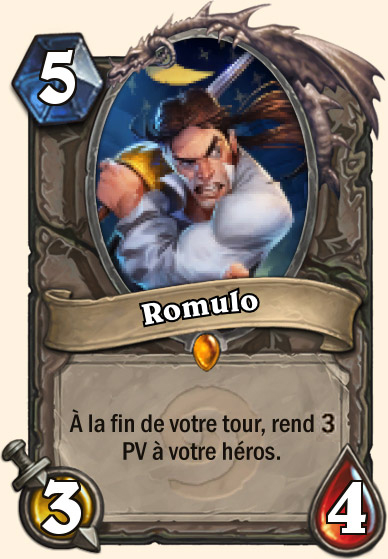 Carte Bras de fer - Romulo